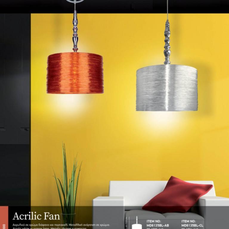 Acrilic Fan